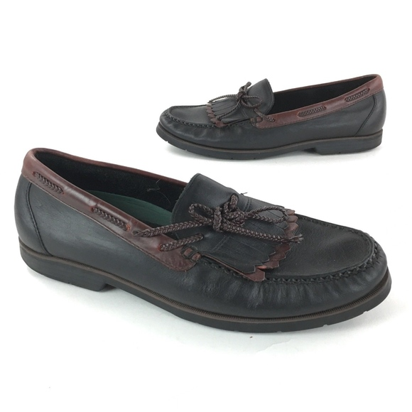 Trader Bay Other - Trader Bay Two Tone Loafer Boat Shoes Size 12 D